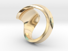 Ring size 7 in 14K Yellow Gold
