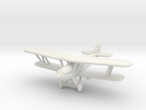 1/200 Hawker Hind in White Natural Versatile Plastic