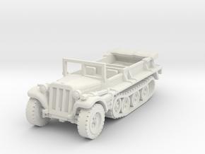 Sdkfz 10 B (open) 1/76 in White Natural Versatile Plastic