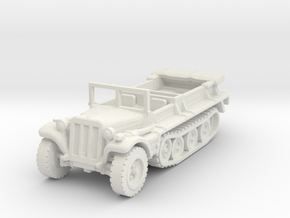 Sdkfz 10 B (open) 1/120 in White Natural Versatile Plastic