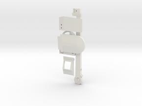 Mando Rangefinder - Lefty Reinforcable in White Natural Versatile Plastic
