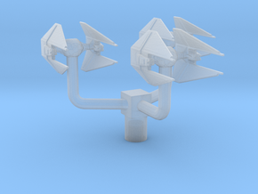Empire - Tie Interceptor Squad in Smooth Fine Detail Plastic