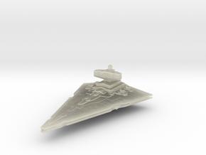 Empire light Cruiser Coruscant in Transparent Acrylic