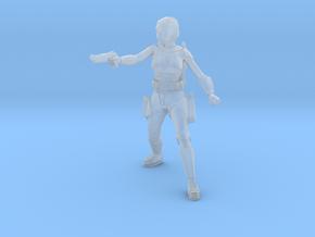 Bo-Katan Kryze No Helmet (Star Wars Legion) in Smooth Fine Detail Plastic
