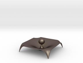 Gravity Single Body in Polished Bronzed Silver Steel
