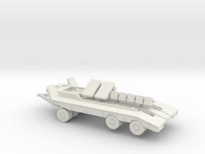 M19 US tank transporter in White Natural Versatile Plastic
