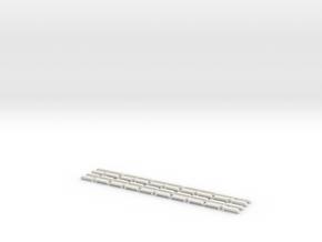 10Paar Drehgestellblenden für Düwag E1/c3/c4 E2/c5 in White Strong & Flexible