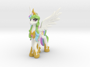 Princess Celestia (Classic, 19.5 cm / 7.6 in tall) in Glossy Full Color Sandstone