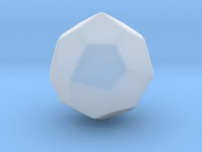 Pentagonal Icositetrahedron (dextro)-10mm-RoundV2 in Smooth Fine Detail Plastic