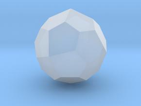 Pentagonal Icositetrahedron (Laevo) -10mm-RoundV1 in Smooth Fine Detail Plastic