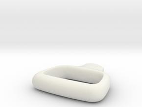 Premium Handle in White Natural Versatile Plastic