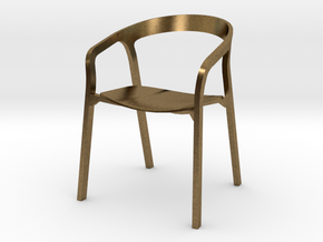 She Said Chair - 6cm tall in Natural Bronze