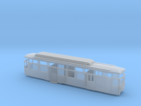 RhB BDe 4/4 491 in Smooth Fine Detail Plastic: 1:150