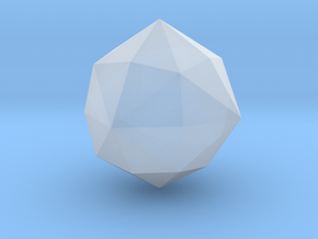 Disdyakis Dodecahedron - 10mm - Round V1 in Smooth Fine Detail Plastic