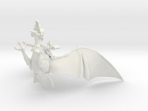 Taarna_200mm in White Natural Versatile Plastic
