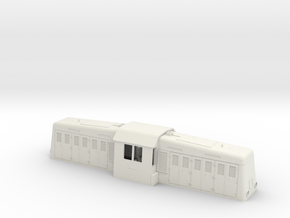 Whitcomb Shell at scale 1:48 (VS scale 0) in White Natural Versatile Plastic