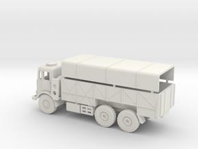 1/72 Leyland truck in White Natural Versatile Plastic