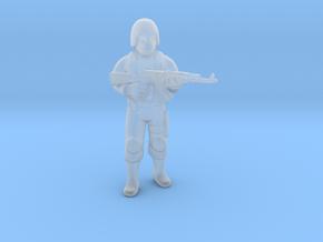 Cobra Soldier miniature model game rpg dnd trooper in Smooth Fine Detail Plastic