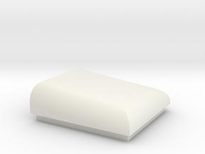 Bonnet Scoop by D. Anderson in White Natural Versatile Plastic