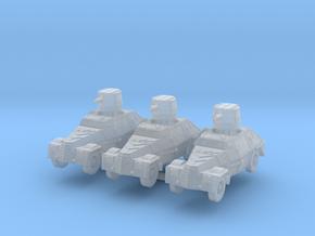 Marmon herrington mk1 (x3) 1/220 in Smooth Fine Detail Plastic