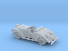 HO Scale Antique Car in Smooth Fine Detail Plastic