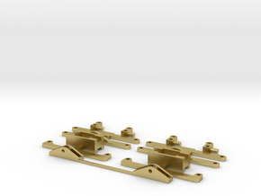 steering front axle scale 0 in Natural Brass