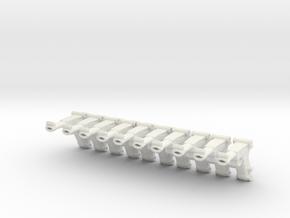 Parabellum P08 SET in White Natural Versatile Plastic