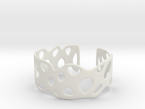 Cellular Bracelet Size S in White Natural Versatile Plastic
