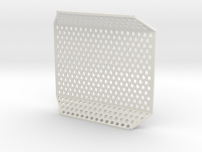 Pi Case Mesh in White Natural Versatile Plastic