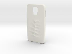 S5 Case Zombiebite in White Natural Versatile Plastic