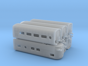 Talgo III 6x remolques in Smoothest Fine Detail Plastic