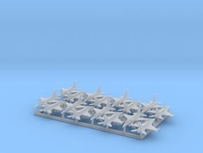 "F-16D ""Barak"" & I ""Sufa"" w/Gear (MD) in Smooth Fine Detail Plastic: 1:600"