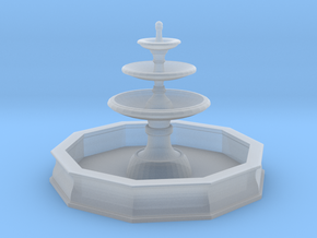 Classic Fountain 01. 1:87 Scale (HO) in Smooth Fine Detail Plastic