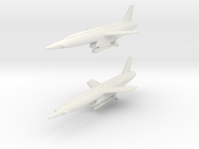 Vought SSM-N-9 Regulus II (2 models) 6mm 1/285 in White Natural Versatile Plastic