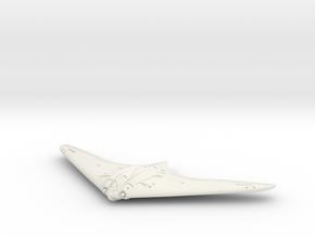 1:72 Horten Ho 229 in White Natural Versatile Plastic