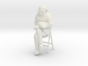 Bernie Sanders Chair in White Natural Versatile Plastic