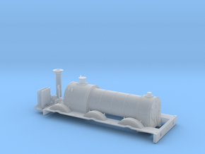 BROAD 0-6-0 Ceasar - Body in Smooth Fine Detail Plastic