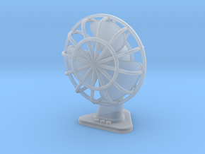 Stand fan / table fan Miniature / for 1/16 scale in Smooth Fine Detail Plastic