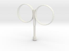 Fireball Holder - men's size in White Natural Versatile Plastic
