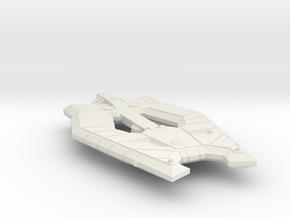 3788 Scale Helgardian Defender Destroyer (DD) MGL in White Natural Versatile Plastic