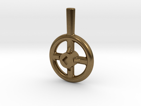 Steam Valve Handwheel - 1/2' dia. in Natural Bronze