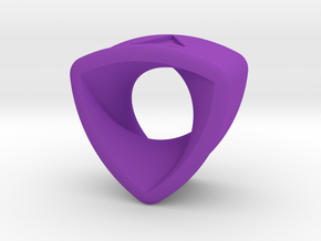 Stretch Rotor 18  By Jielt Gregoire in Purple Processed Versatile Plastic