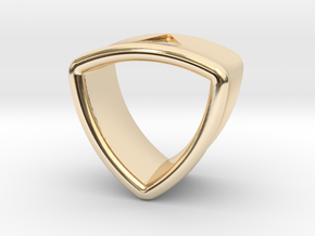 Stretch Shell 18 By Jielt Gregoire in 14K Yellow Gold