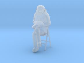 Bernie Sanders Chair 1/35 in Smooth Fine Detail Plastic