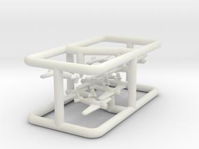 1/900 Macchi C.200 (4x3) in White Natural Versatile Plastic