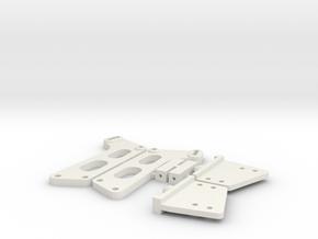 Kyosho Lazer OT-99 Wing Stay in White Natural Versatile Plastic