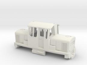 mini clayton in White Natural Versatile Plastic