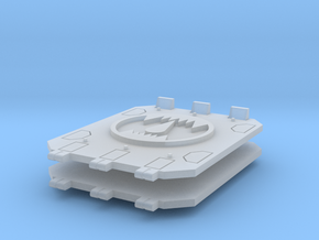 Toothed Mouth Jericho Tank doors #2 in Smooth Fine Detail Plastic