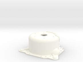 "1/8 Lenco 7.5"" Dp Bellhousing (With Starter Mnt) in White Strong & Flexible Polished"