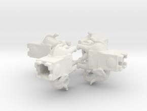 Carthaginian WAR ELEPHANT 1/285 6mm x4 in White Natural Versatile Plastic